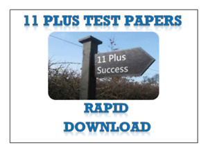 Free Test papers for 11+ exams