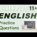 English 11+ Practice Questions