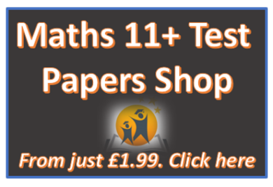 Maths 11+ past papers