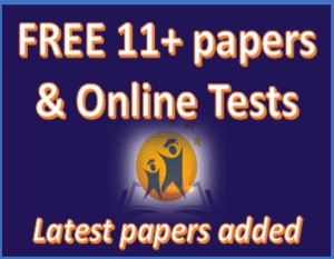 Free 11+ Papers & Online tests