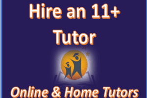 Hire an 11+ Tutor today