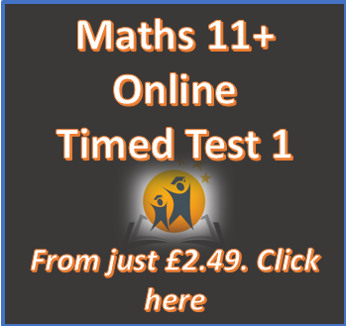 Maths Timed Test 1